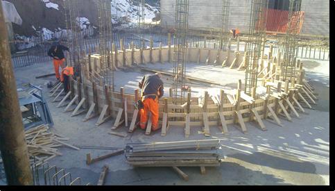 Fea srl arredo urbano e costruzioni in legno savignano - Costruzione piscina in cemento armato ...